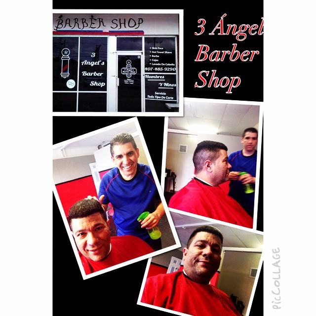 3 Ángel Barber Shop #piccollage